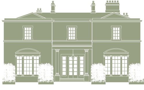 Holywell Hall Illustration