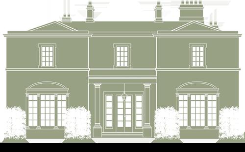 Holywell Hall Illustration